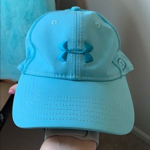 New women's under armour blue athletic hat